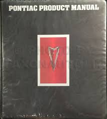 1977 pontiac firebird and trans am owner u0027s manual original set