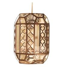 bevelled glass easy fit pendants home lighting superstore