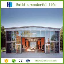 heya superior quality prefabricated steel frame structure shipping