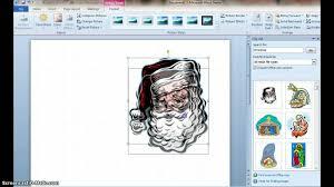 how to make a christmas card using microsoft word youtube
