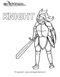 knight armor coloring page a free educational coloring printable