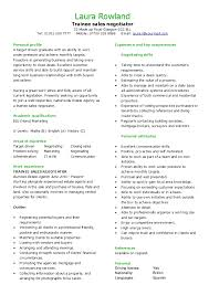 Solicitor Resume Trainee Sales Negotiator Cv Hashdoc