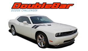 Dodge Challenger 2013 - dodge challenger hood stripes vinyl graphics decal double bar 2018