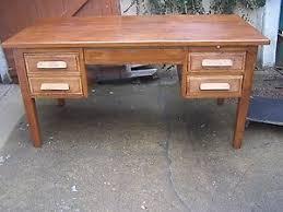meuble bureau ancien bureau ancien ministre caisson meuble métier chêne massif style
