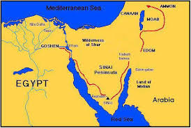 middle east map moses time today s bible maps for bible study