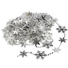 Silver And White Christmas Decorations Silver Christmas Decorations And Trees Ebay
