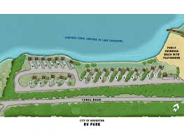 Map Of The Upper Peninsula Of Michigan City Of Houghton Rv Park