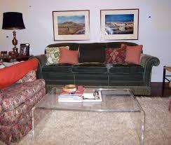 futuristic lucite coffee table home furniture and decor