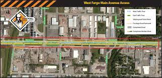 Nd Road Map Home North Dakota Dot Fargo