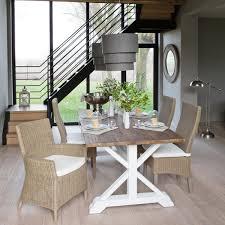 maison du monde küche mesa de comedor con listones de madera reciclada an 200 cm