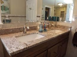 Granite Countertops For Bathroom Vanity by Best 20 Granite Countertops Bathroom Ideas On Pinterest Granite