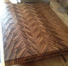 zebra end grain cutting board by doublewide lumberjocks com