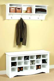 Entryway Storage Bench With Coat Rack Entryway Storage Bench Mudroom Inch Storage Bench Unique Entryway