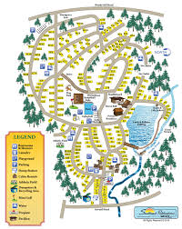 Ri Map Whispering Pines Campground Find Campgrounds Near Hope Valley