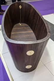How To Make A Wooden Bath Tub by 3 Wood Bathtub 55 Beautiful Design On Wood Finish Bathroom