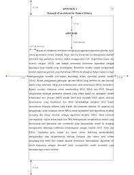 format abstrak tesis manual tulis tesis 2007