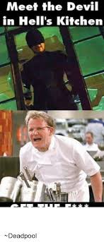 Hells Kitchen Meme - someone put audio from hell s kitchen over gordon ramsay s kid