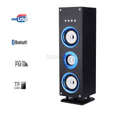 home theater system with fm radio foxhunter bluetooth wireless portable tower speaker fm radio tf