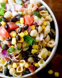 Pasta Salad Ingredients Mexican Macaroni Salad U2013 Recipe Diaries