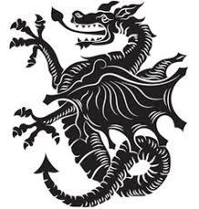 tribal u0026 dragon vector images over 500