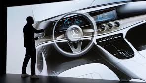 mercedes e class concept the e class user interaction operating logic and display