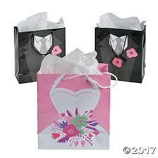 pink gift bags groom gift bags