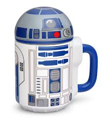 star wars r2 d2 20oz lidded mug thinkgeek