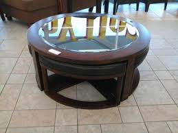 coffee table furniture coffee table with chairs underneath