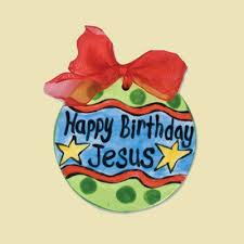 gifts for happy birthday jesus ornament