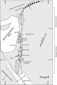 Dead Sea Map Structural Styles Along The Dead Sea Fault Pdf Download Available