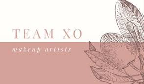 makeup artists business cards customize 45 makeup artist business card templates online canva