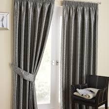Grey Metallic Curtains Tuscany Silver Pencil Pleat Curtains Pencil Pleat Curtains