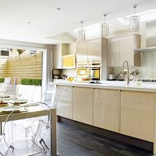 Galley Kitchen Lighting Galley Kitchen With Kitchen Eclectic With Recessed Lighting Wood