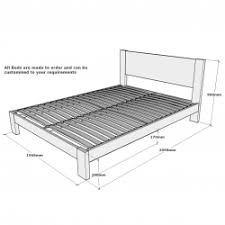 What Is The Measurement Of A King Size Bed Swish 10 Ideas About California King Bed Frame On Pinterest