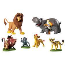 lion figurine the lion guard figurine playset