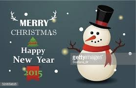 christmas greeting card with cute merry christmas stock vectors