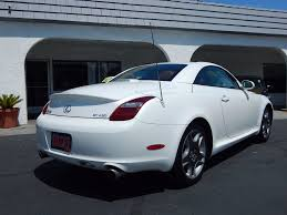pre owned lexus sc430 for sale 2006 used lexus sc 430 convertible fully loaded carfax