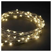 philips 90ct dewdrop string led lights warm white target