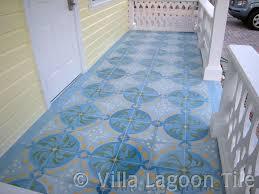 cement tile outdoor installations villa lagoon tile