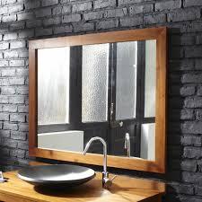 Oak Bathroom Mirrors - pretty looking oak framed bathroom mirrors mirror design ideas
