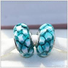 glass beads pandora bracelet images 2018 925 sterling silver high quality screw core teal murano glass jpg