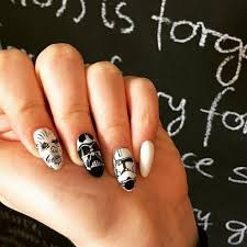 star wars nail art ideas popsugar beauty