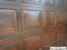 garage door wood churchill plainwindows gel stain garage door