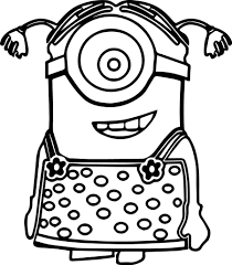 coloring pages coloring minion coloring printable