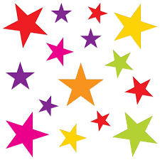 clipart of meduim stars to print
