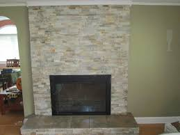 Tiled Fireplace Wall by Stone Tiles For Fireplaces On A Budget Creative On Stone Tiles For