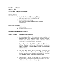 sample project manager resume sample resume assistant project manager frizzigame assistant project manager resume examples project manager resumes