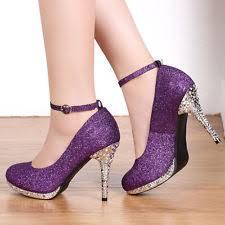 wedding shoes purple purple bridal shoes ebay
