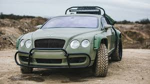 bentley the bentley you need for the zombie apocalypse is finally for sale
