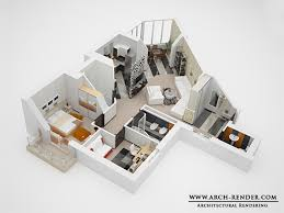 Interesting House Plans D And With Floor       S For Ideas - 3d design home